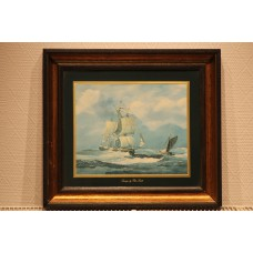 Reproduction (20ᵉ century) in frame  Seascape