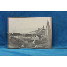 (20ᵉ century) Print in frame with glass Arles France