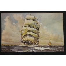 (20ᵉ century) Print in frameSailer