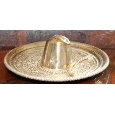 American Silver (20ᵉ century) Miniature Mexican hat