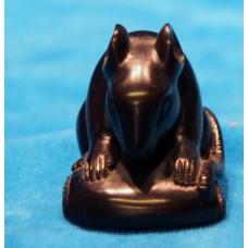 Black ebony (Early 20ᵉ century) Chinese Netsuke Mouse