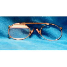 Metal (19ᵉ century) 10K Gold colored glasses
