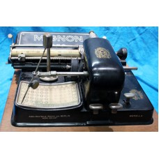 AEG Mignon Typewriter 1910-1915 Advance system with a wise arm