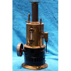 Copper miniature Standing steam machine