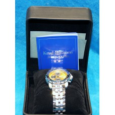 Krüg Baümen wrist watch (20ᵉ century)Sports master Diamond quartz in original case