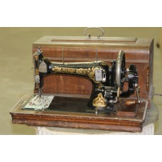Naumann  (about 1900) Sewing machine in suitcase