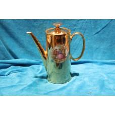 Bavaria Polychrome Porcelain (20ᵉ century) Tea service with gallant depicting scenes