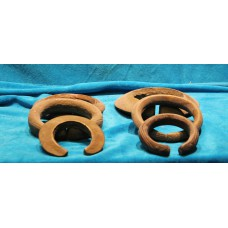 Bronze (19ᵉ century) 6 bronze rings for throwing game