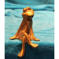 Bronze (19ᵉ century) Amorous frog