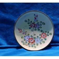 China Enamel (20ᵉ century) Saucer with floral pattern