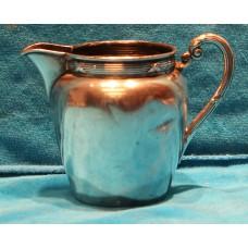Alpacca Silver plate (19ᵉ century) milkjug