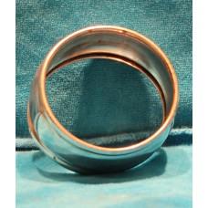Posthoorn Silver plate (19ᵉ century) napkin-ring