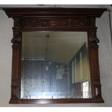 Mirror (19ᵉ century) Furniture With sharpened edges in Mechelen decorative frame