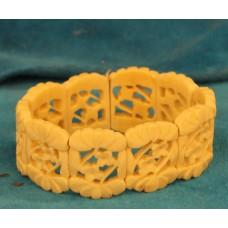 Ivory (19ᵉ century) Openwork bracelet