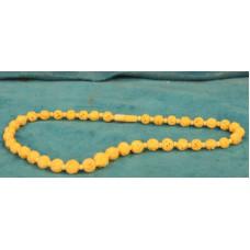 Ivory (19ᵉ century) Beaded necklace