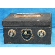 Iron (20ᵉ century) Moneybox in the form of a safe box