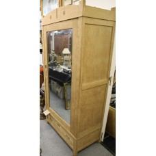 Art Deco (20ᵉ century) CabinetCupboard with mirror door and drawer