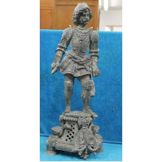 Spelter early (20ᵉ century) Knight