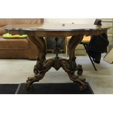 (19ᵉ century) Furniture William III spinning head table