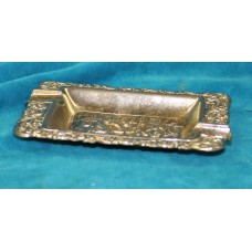 Chrome (20ᵉ century) Rectangular old Dutch ashtray