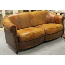 Art Deco Leather (20ᵉ century) 2 seater