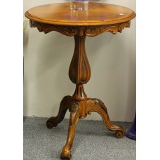 (20ᵉ century) Furniture Side table with one strain with 3-sprang