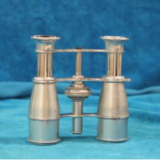 De La Cour Tin chrome plated (20ᵉ century) Scenic Binoculars