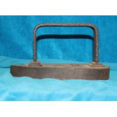 Iron (19ᵉ century) Clothing Iron to 7 kilos