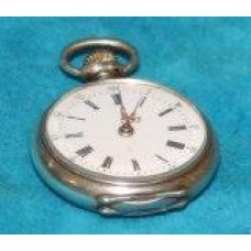 Silver (1891) Nurses Fob Watch