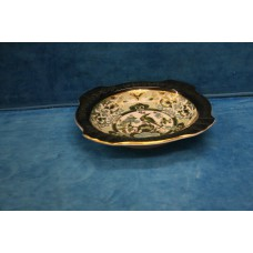 Japanese Porcelain (20ᵉ century) Ashtray with decoration of bird of paradise