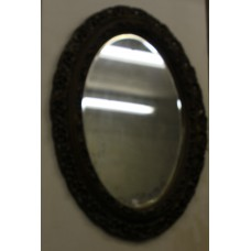 (19ᵉ century) Mirror in ornamente frame Faceted mirror