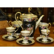 Bavaria Porcelain (20ᵉ century) 9 pieces  coffee service