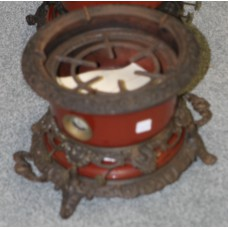 Art Nouveaux  Enamel (19ᵉ century) Oil Set three burner stove