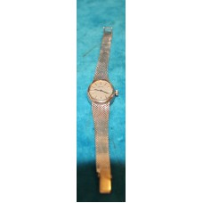 Ladies Wrist Watch (20ᵉ century) 14Kt gold primato Oval