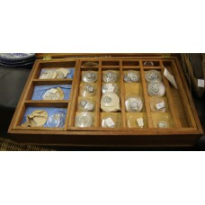 Dutch Wood Glass (20ᵉ century) 151 watch box with glass miscellaneous sizes versatile