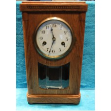 German (19ᵉ century) Wood. Table clock