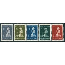 1940 Child welfare NVPH 374 - 378
