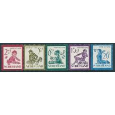 1950 Child welfare NVPH 563 - 567