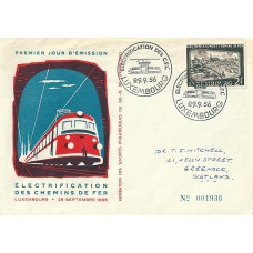 Luxembourg Mi. 558 on FDC